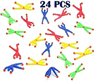Sticky Action Figure Rolling Men Wall Climbers 24 per pack