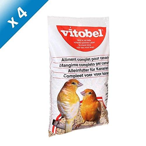 VITAKRAFT Menu canaris coussin - Mélange de graines - Pour canaris - 2,5kg (x4)