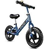 Bicicleta sin pedales KidoMe - Hasta 6 años ROJO o AZUL -