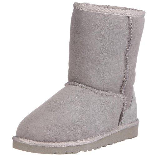 UGG Kid's Classic, Chaussures Premiers Pas Mixte bébé, Gris (Grigio), 23.5 EU