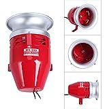 YaeCCC Motor Horn Siren Buzzer MS-390 AC 110V 1.5A 125DB Decibel Security