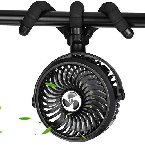 TDONE 携帯扇風機 【2020最新モデル】 扇風機 小型 手持ち扇風機 車 扇風機 usb 充電式 静音 巻き付け/吊り...