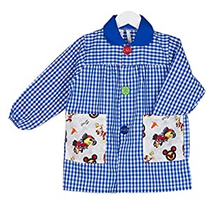 KLOTTZ - BABY MICKEY BATA GUARDERIA DISNEY Niñas color: AZUL talla: 3