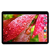 YELLYOUTH Android Tablet 10 inch with Sim Card Slots 2.5D Curved Glass Touch...