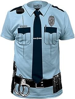 police costume t-shirt
