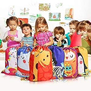 514UsefF4IL. SS300  - BeebeeRun 12 Mochila con Cordón para Niños Niños Niñas,Bolsas de Cuerdas para Infantils,Party Bolsas Fiesta de Cumpleaños Navidad Regalos