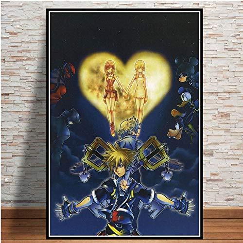 AJleil Puzzle 1000 Piezas Kingdom Hearts Video Game Popular...