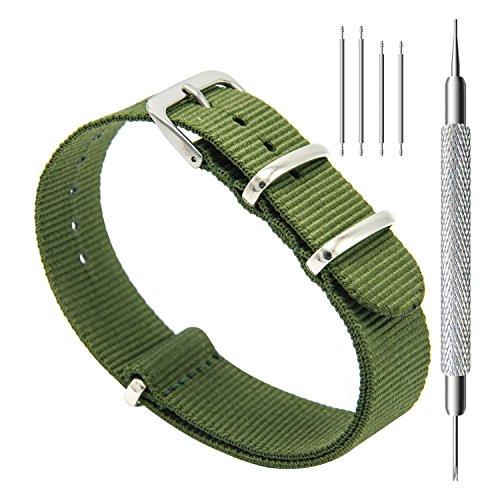 CIVO Correa de Reloj Nato Balística Premium Nylon Correas de Reloj Hebilla...