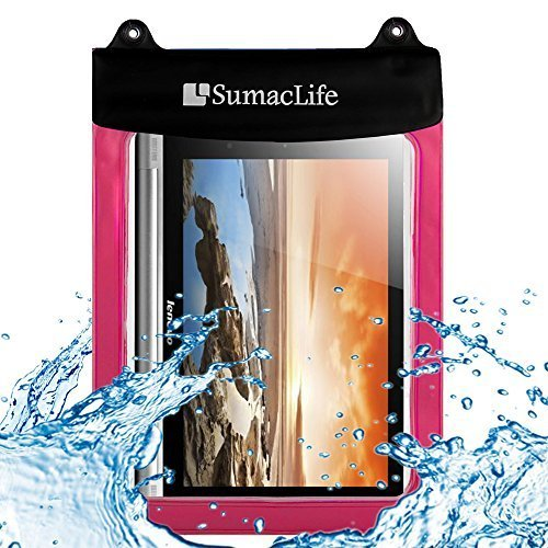 10.6inch Waterproof Pouch Case for Lenovo Yoga 10.1inch Tablet, Microsoft Surface Pro 2, Samsung Galaxy Tab S 10.5 inch, Dragon Touch A1x Plus, Irulu X1s Quad core