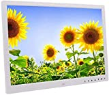 L.BAN Marco de Fotos Álbum electrónico de 17 Pulgadas botón táctil Digital HDMI HD 1080P Álbum de Pared de Alta resolución 1440 & Times; 900