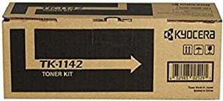 Kyocera 1T02ML0US0 Model TK-1142 Black Toner Cartridge, Compatible with ECOSYS M2035dn, M2535dn, FS-1035MFP and FS-1135MFP Laser Printers; Up To 7200 Pages Yield