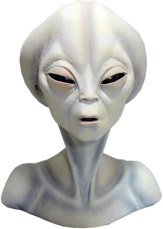 Horror-Shop Roswell Alien Büste aus Hartschaum als Dekoidee