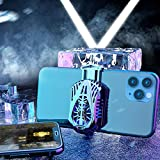 New Portable Cooler Mobile Phone Radiator Semiconductor Rapidly Cools Down, Applicable to All Models of for iPhone / Android Phone /Tablet (Black)