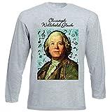 Photo de teesquare1st Men's Christoph Willibald Gluck Composer T-Shirt à Manches Longues pour Homme Size XXXLarge