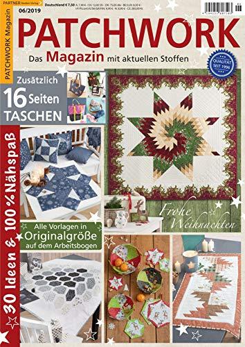 """Patchwork Magazin 6/2019 \""""Frohe Weihnachten\"""""""