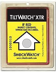 shockwatch tiltwatch XTR indicadores de impacto, Paquete de 10unidades