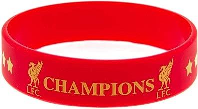 offizieller Merchandise-Artikel Champions of Europe Silikon-Armband Liverpool F.C