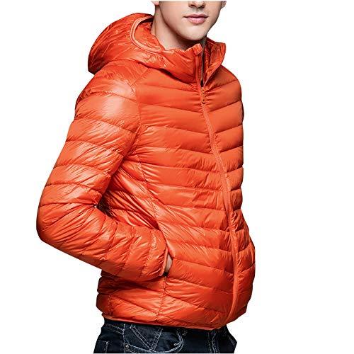 Männer lässig Herbst Winter Reißverschluss Fleece Hoodie Outwear Tops Pullover Mantel, Daune Alternative Jacke Outdoor Sport Wassersicher Parka Expedition Mountain Coat