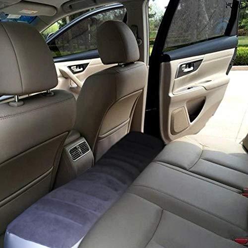 aheadad - Colchón neumático para coche, hinchable, reposapiés, cojín de asiento trasero, universal, multifunción, cama de aire, para coche, conducción, cama de giro, para coche