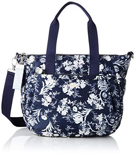 Oilily Damen Groovy Handbag Mhz Henkeltasche, Blau (Dark Blue), 15.0x25.0x33.0 cm
