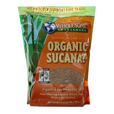 Wholesome Sweeteners Sucanat Max 75% OFF 2 # 2-Pound of 3 Pack Og Year-end annual account