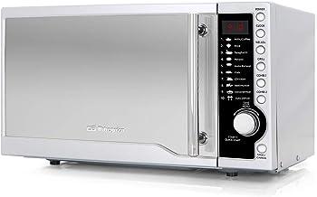 Orbegozo MIG 1811, 6 Niveles de Potencia, Temporizador, Programa de descongelación, 17 L de Capacidad, 700 W microondas, 900 W Grill, 17 litros, Gris