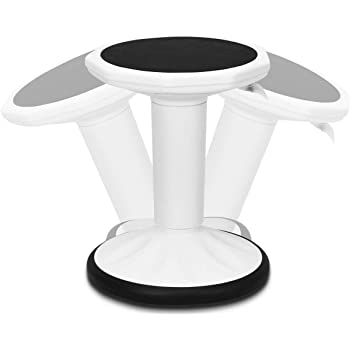 Flexible Classroom Seating Active Sitting for Children Teens: Better Than a Balance Ball Adjusts from 16.5 to 24 Kore Adjustable Height Wobble Chair Kids Black