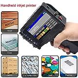 Upgraded Portable Handheld Inkjet Printer 600DPI Inkjet Code Printer with Touch Screen 360...