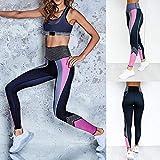 AAJIA,Ropa Deportiva,Leggings de Mujer de Gran tamaño Pantalones de Cintura Alta de Entrenamiento de Fitness Informal de compresión para Mujer, M