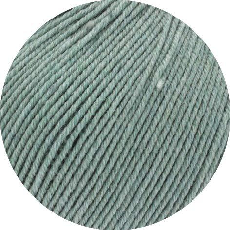 Lana Grossa Cool Wool Big Melange (GOTS) 209 - Graugrün meliert