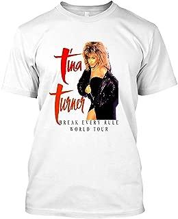 Tina Turner - World Tour - Reproduction Concert Tee 1987 T-Shirt|Sweatshirt,Black,X-Large