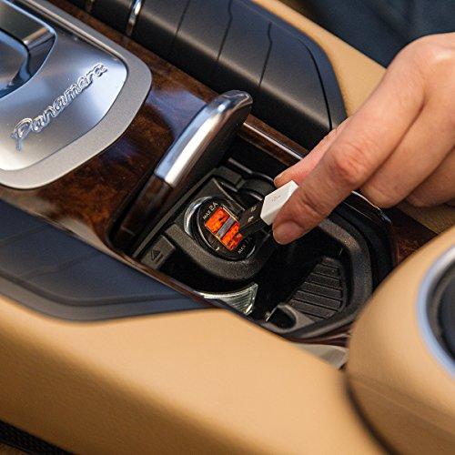 『WY 2ポートUSB車載充電器 [iPhone6s/6s Plus対応] 各社スマホ・iPadの車内充電 カーチャージャー 2.0A出力 小型 WY-CAR001』の8枚目の画像