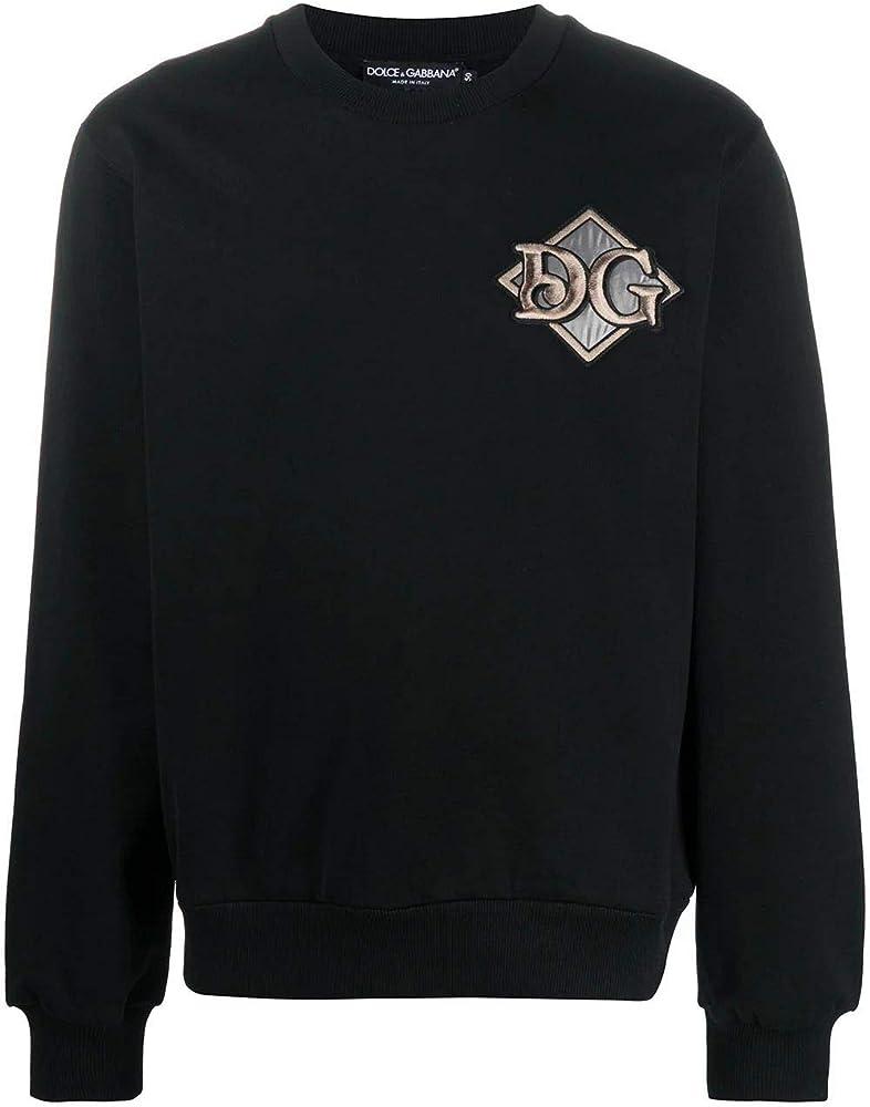 Dolce & gabbana luxury fashion felpa uomo in cotone 100% G9OW6ZG7XSHN0000