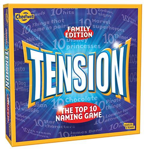 Cheatwell Games Tension Family Edition Brettspiel, in englischer Sprache