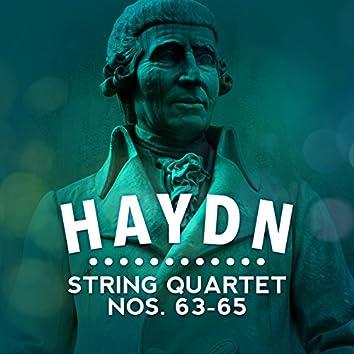 Haydn: String Quartet Nos. 63-65