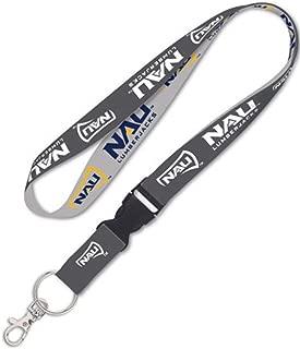 Wincraft NCAA Northern Arizona NAU Lumberjacks Premium Lanyard Id Holder Key Chain, Charcoal Edition