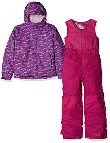 Columbia Kleinkinder Schnee Set Buga, Rosa (Pink Clover Trees), 4T