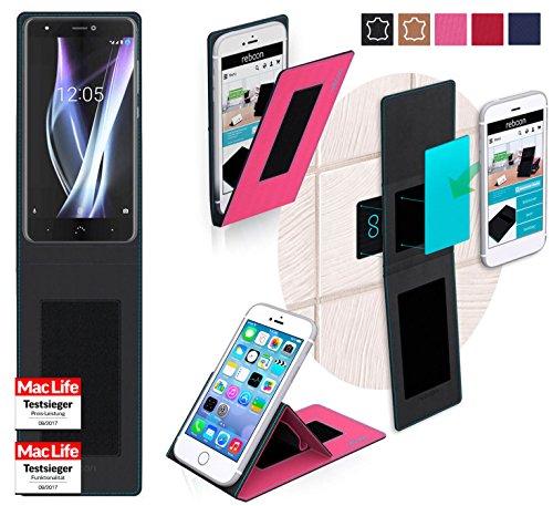 Hülle für BQ Aquaris X Pro Tasche Cover Hülle Bumper | Pink | Testsieger