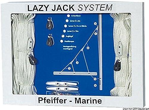 Lazy jack jusqu'à 40 pieds