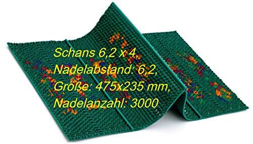 Lyapko Neue !!! AALP Schans 4x6.2 Massagematte,Akupunktur Applikator Ляпко,475x235 mm,elastisch Massagematte Schans 6.2x4 Neue Model-!!!