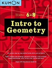Download Book Intro to Geometry (Grades 6-8) (Kumon Middle School Geometry) PDF