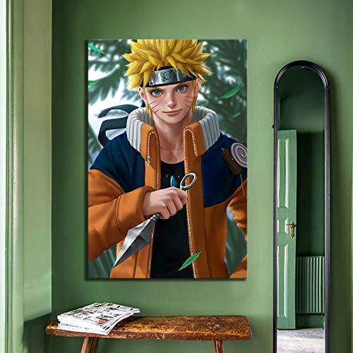 Puzzle 1000 Piezas Personaje de Dibujos Animados de Naruto Puzzle 1000 Piezas educa Educativo Divertido Juego Familiar para niños adultos50x75cm(20x30inch)