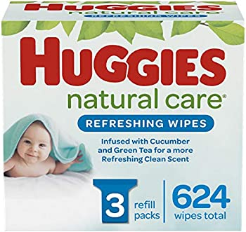 624-Count Huggies Refreshing Clean Baby Wipes