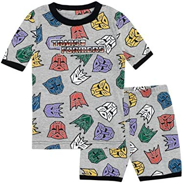 Transformers Boys Autobots and Decepticons Pajamas Size 5 Multicolored product image