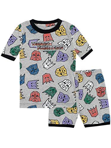 Transformers Pijamas de Manga Corta para...