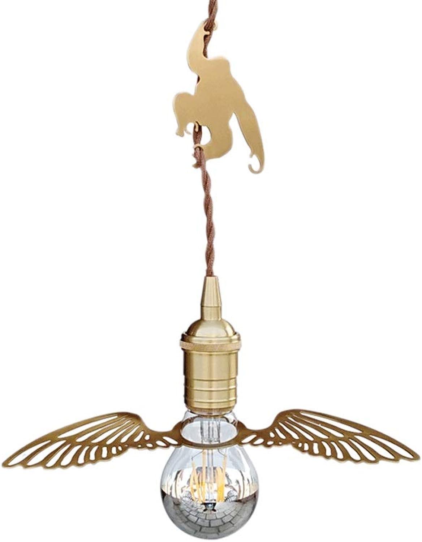 Moderner minimalistischer Art-Leuchter-justierbarer Goldmessingleuchter-Engels-Flügel-Leuchter-Restaurant-Wohnzimmer-Schlafzimmer-Leuchter,24cm H15cm