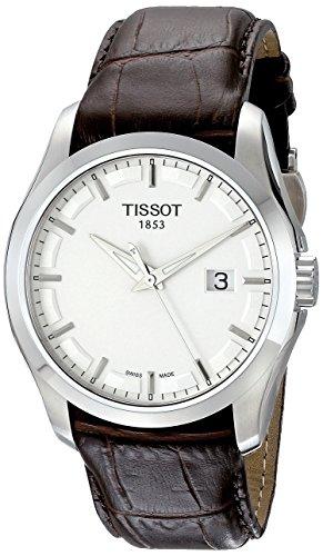 Tissot Herren-Armbanduhr Couturier Leder T0354101603100