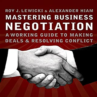 Mastering Business Negotiation audiobook cover art