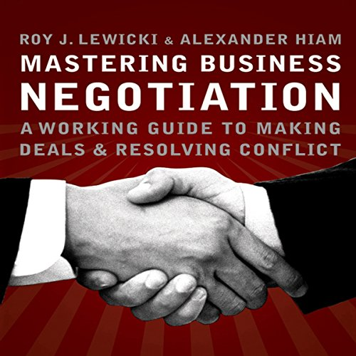 Couverture de Mastering Business Negotiation