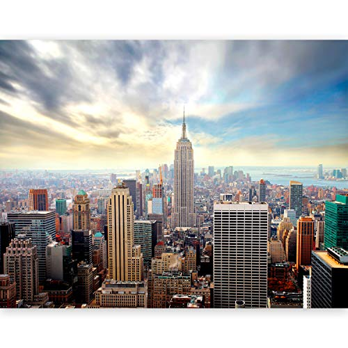 murando Fotomurales Nueva York 200x154 cm XXL Papel pintado tejido no tejido Decoración de Pared decorativos Murales moderna de Diseno Fotográfico New York - 100404-126